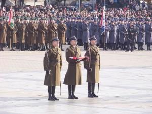 Plac Defilad żołnierz