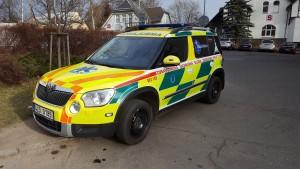 Ambulans czeskiego pogotowia